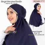Hijab Bergo Maryam Renda Md (Medium Size)