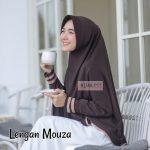 Hijab Lengan Saku Mouza. PREMIUM.