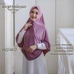 Hijab Bergo Malaysia Size L.